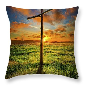 Throw Pillow featuring the photograph Good Friday by Phil Koch