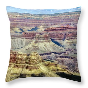 Grand Canyon Throw Pillow by RicardMN Photography