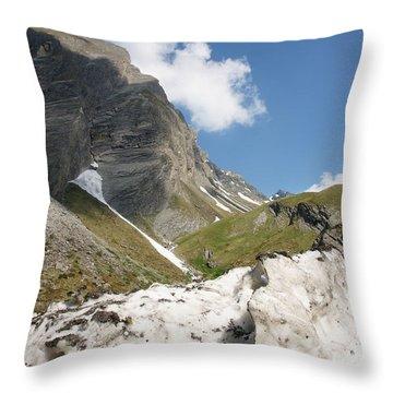 Grossglockner Throw Pillow
