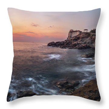 Guardian Of The Sea Throw Pillow