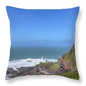 Hartland Point - England Throw Pillow