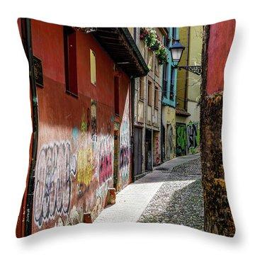 Historic Downtown Throw Pillow