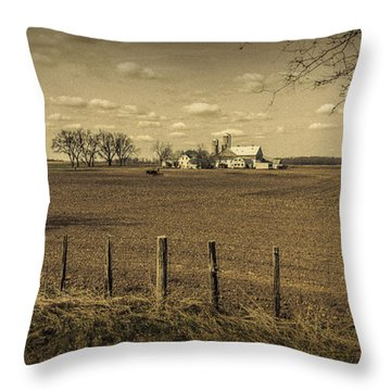 Honest Day's Work Throw Pillow