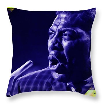 Howlin' Wolf Collection Throw Pillow
