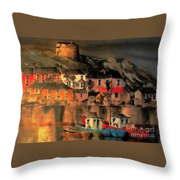 Howth Sunset Dublin Throw Pillow