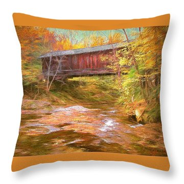 Hutchins Bridge Throw Pillow