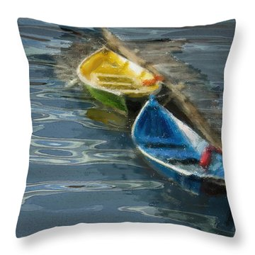 2 In Waiting Throw Pillow by Dale Stillman