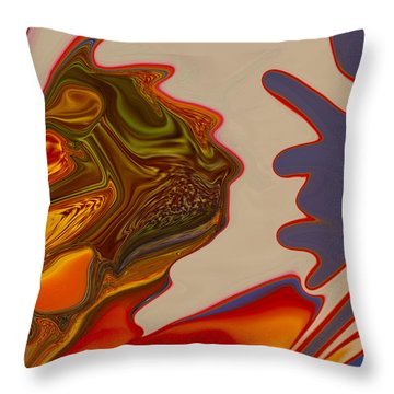 Intuition Throw Pillow by Omaste Witkowski