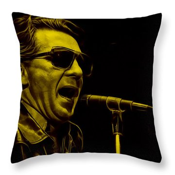 Jerry Lee Lewis Collection Throw Pillow