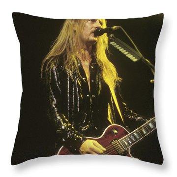 Jerry Cantrell Throw Pillows