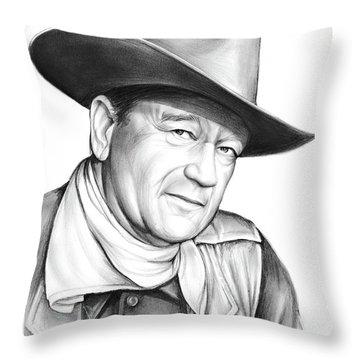 John Wayne Throw Pillow
