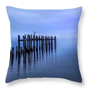 Colorful Overcast At Twilight Throw Pillow