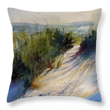 Lake Michigan Throw Pillow