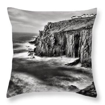 Lands End At Dusk Throw Pillow