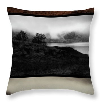 Throw Pillow featuring the photograph Loch Arklet by Jeremy Lavender Photography