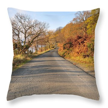 Loch Voil Throw Pillow