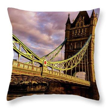 London Tower Bridge. Throw Pillow