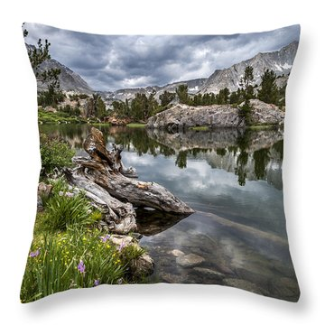 Long Lake Throw Pillow