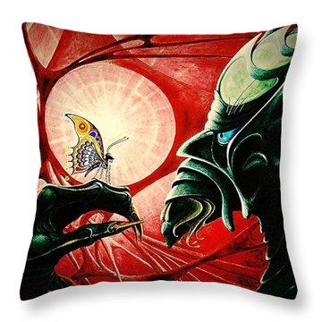 Lucifer  Throw Pillow