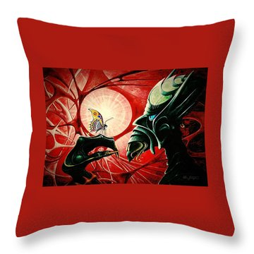 Lucifer  Throw Pillow