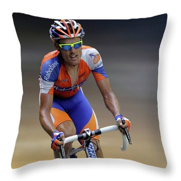 Luis Leon Sanchez 3 Throw Pillow