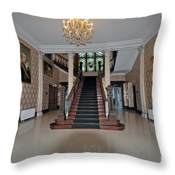 Lyrath Estate Hotel Throw Pillow