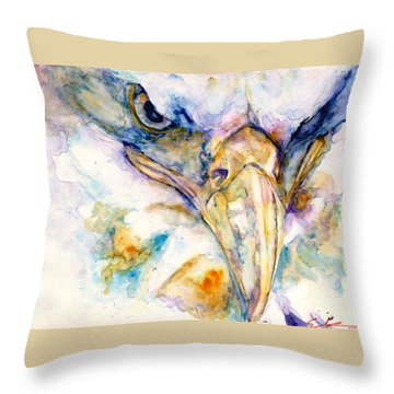 Marie's Eagle Throw Pillow