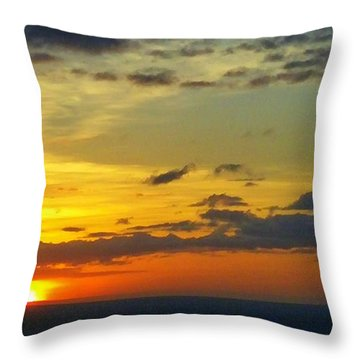 Extraordinary Maui Sunset Throw Pillow