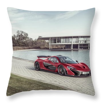 Mclaren P1 Throw Pillow