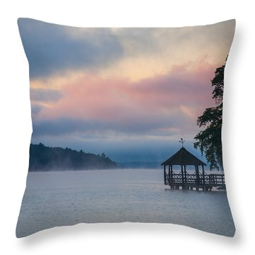 Meredith New Hampshire Throw Pillow