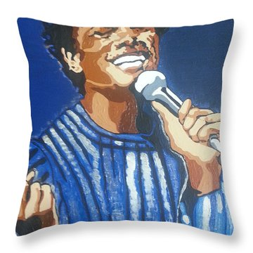 Michael Jackson Throw Pillow