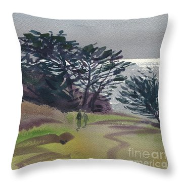 Miramonte Point 1 Throw Pillow by Donald Maier