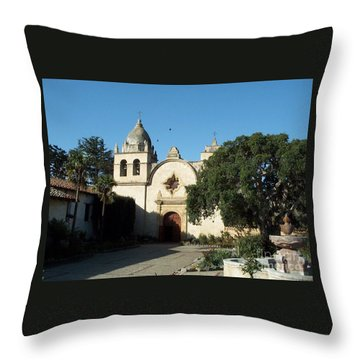 Mission Carmel Throw Pillow