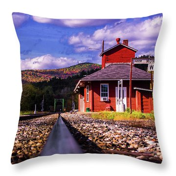 Montpelier Vermont Throw Pillow