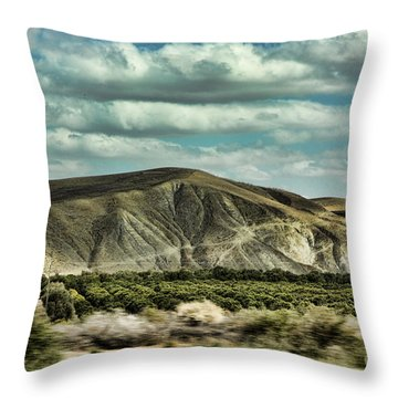 Morocco Landscape I Throw Pillow
