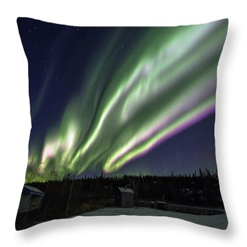 Night Of Color Throw Pillow