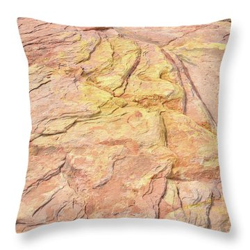Throw Pillow featuring the photograph North Valley Of Fire by Ray Mathis
