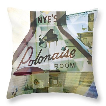 Nye's Polonaise Room Throw Pillow