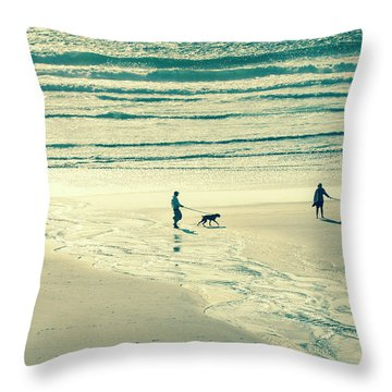 Oceanside Oregon Throw Pillow
