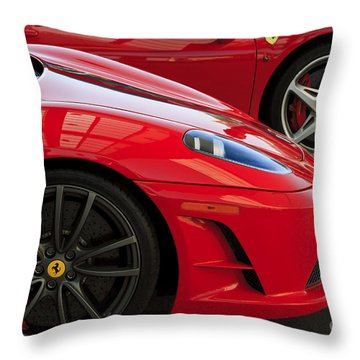2 Of A Kind Throw Pillow by Dennis Hedberg