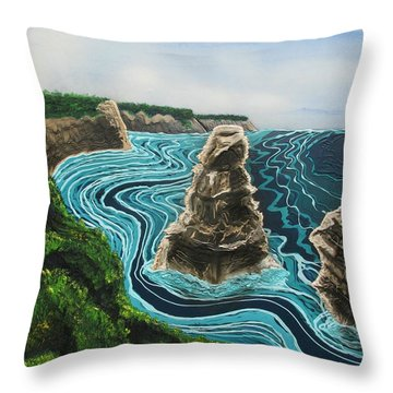 2 Of The 12 Throw Pillow