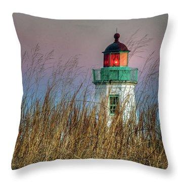 Old Point Comfort Light Throw Pillow