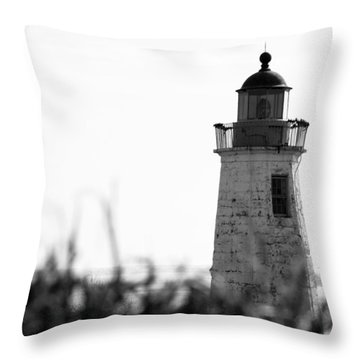 Old Point Comfort Lighthouse Throw Pillow