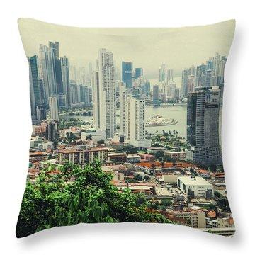 Panama City Throw Pillow