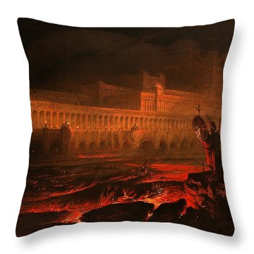 Pandemonium Throw Pillow