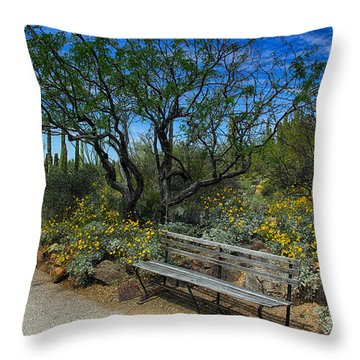 Peaceful Moment Throw Pillow