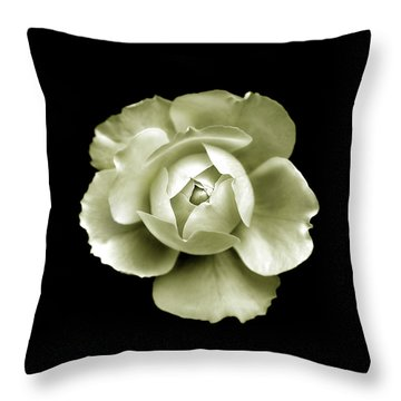Throw Pillow featuring the photograph Peony by Charles Harden