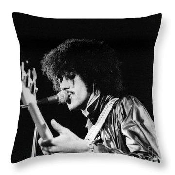 Phil Lynott Throw Pillow