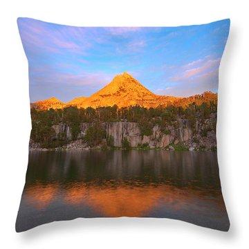 Pinnacle Sunset Throw Pillow