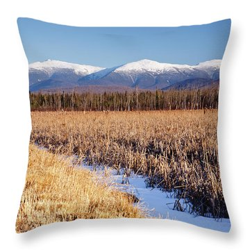 Pondicherry Wildlife Refuge - Jefferson New Hampshire Throw Pillow